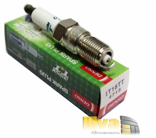 Свечи зажигания DENSO IT16TT иридиевые с платиновым заземлением (цена за 1шт), Япония (denso iridium TT)