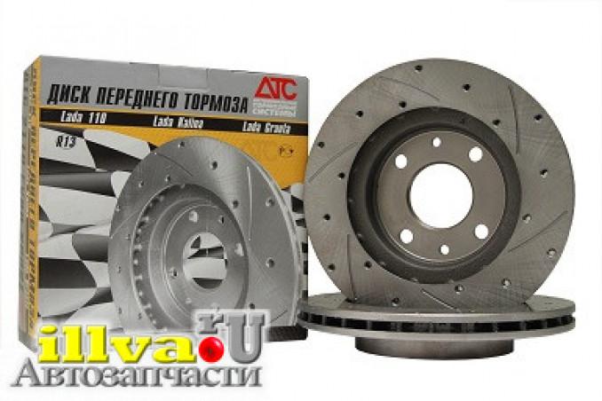 Тормозные диски (вентилируемые с перфорацией) R13