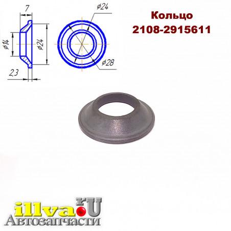 Скребок заднего амортизатора (кольцо защитное штока) для ВАЗ 2108, 2110, 1119 Калина, 2170 Приора и 2190 Гранта (2108-2915611)