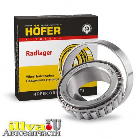 Подшипники передней ступицы ВАЗ 2121 Нива HOFER Германия HF300044