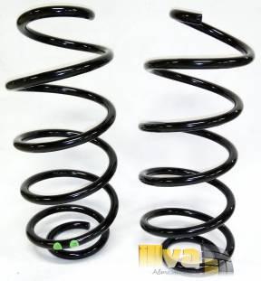 Пружины передние ВАЗ 2192 Калина-2, Калина Кросс - две зеленые точки - бочкообразные - АвтоВАЗ - MUBEA - холодной навивки 21928290271200