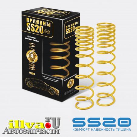 Пружины задние SS20 Gold Progressive для автомобилей ВАЗ 1118-19 Калина, 2170 приора, 2190 Гранта, 2110 (SS20.157.00.001-03) холодной навивки, переменный шаг SS30131