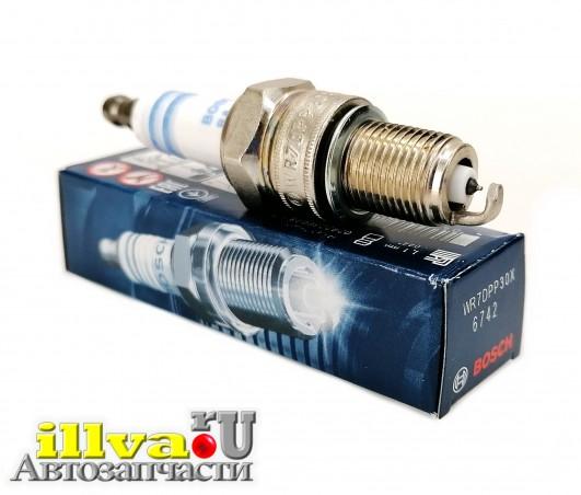 Свеча зажигания Kalina Granta зазор 1,1 мм двс 8 кл Bosch 0242236648