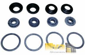 Ремкомплект амортизатора, стойки передней ВАЗ 2101 - 2107, 2121, 2123, 1111 Ока (Ремкомплект 12Р 12p, 4 шт сальник штока, 4 шт уплотнительное кольцо, 4 шт  прокладки