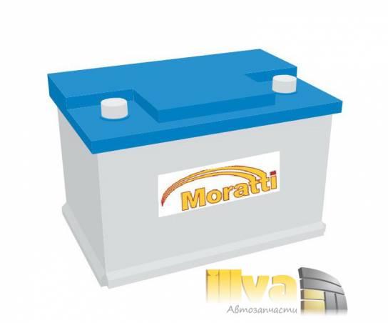Автомобильный аккумулятор Moratti 75 А/ч, прямая полярность, 12В, 750A (EN) 575 014 075