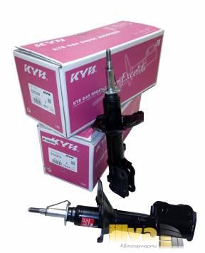 Стойки передние на Хендай Акцент Каяба KAYABA Excel-G LC, TAGAZ газовые, Accent 2шт, прав/лев KYB-333304/333305
