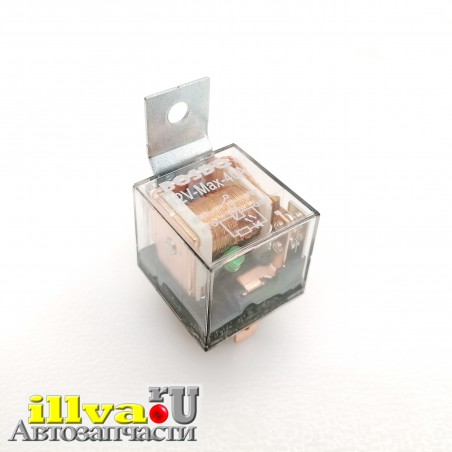 Реле стартера 2108, ГАЗель Бизнес 4-х контактная 40А с диодом BOSDQ oem 2105-3747210-22