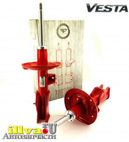 Стойки Веста, передней подвески Lada Vesta Технорессор газовым упором с занижением -50мм