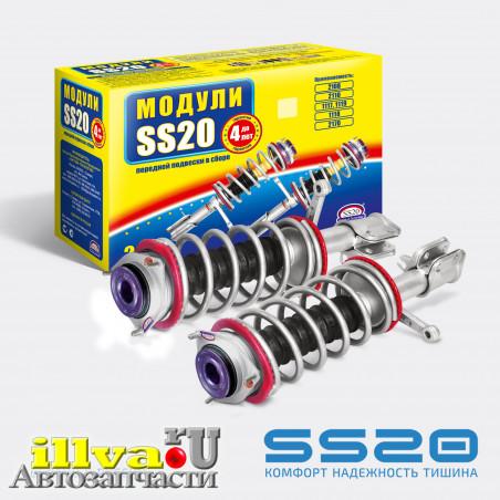 Модуля передней подвески SS20 Шоссе с опорой КВИН, для ВАЗ 2110, 2111, 2112, 21126 (2шт) для 8 и 16 кл, двигателей SS99115