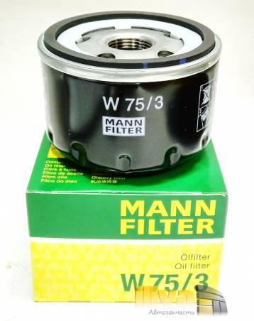 Масляный фильтр MANN для Лада Ларгус Nissan Almera W75/3