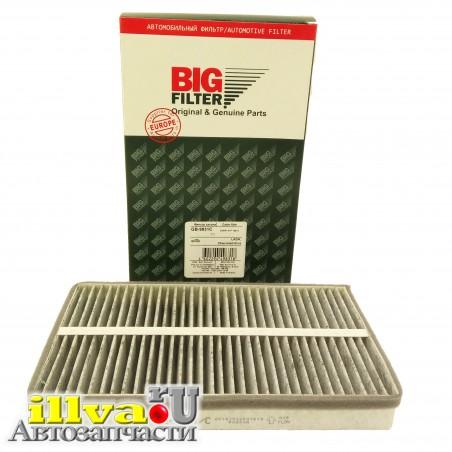 Фильтр салона ВАЗ 1118 Калина, 2190 Гранат. 2123 Шевроле Нива Big Filter (Биг-фильтр)  угольный GB-9831/C