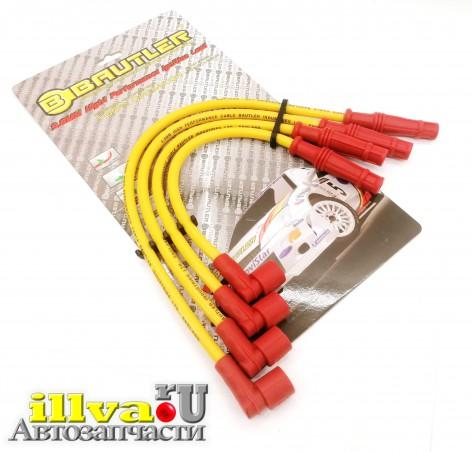 Провода высоковольтные на ваз 2111, 2113, 2114, 2115 8 кл силиконовые BAUTLER спорт, толщина 9,8мм btl0010iws