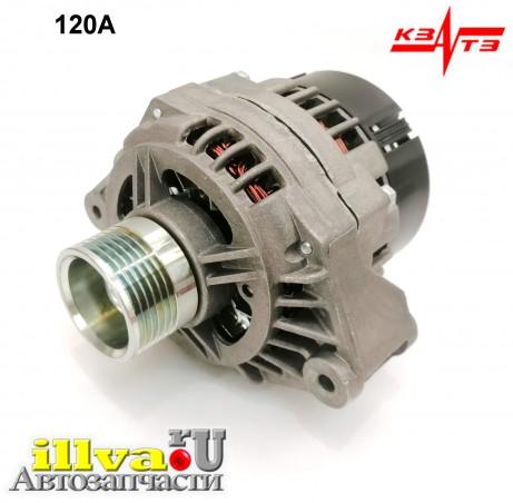 Генератор на ВАЗ 2108, 2109, 21099, 2110, 2115 и модификации двигатель с ЭСУД КЗАТЭ 120А - 9204.3701B
