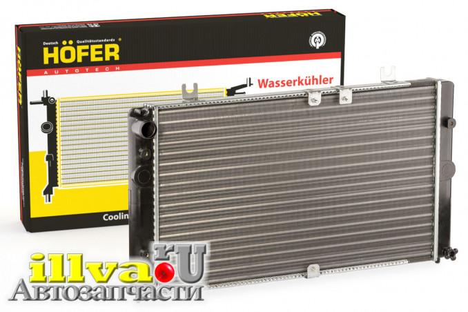 Радиатор охлаждения ВАЗ 1118 Калина Hofer Германия (HF708419)