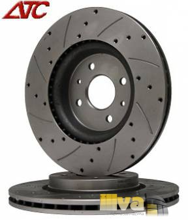 Тормозные диски (вентилируемые с перфорацией) R15