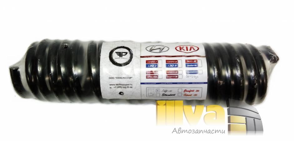 Задние пружины Технорессор усиленые Кия Спортейдж Kia Sportage III 4x4 с завышением +20 мм