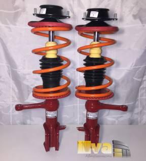 Стойки в сборе передние Демфи модуль передней подвески с занижением -50, для ВАЗ 2108 2115 (2шт)