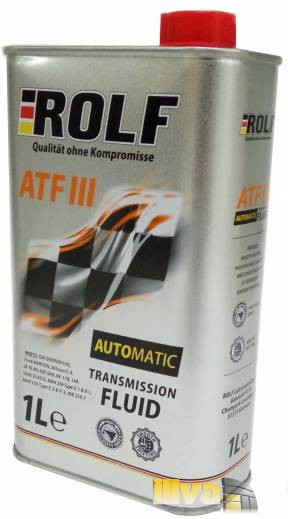 Трансмиссионное масло ROLF ATF III 1 литр