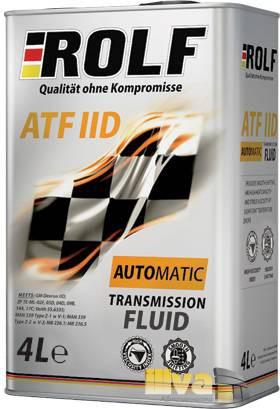 Трансмиссионное масло ROLF ATF IID 4 литра