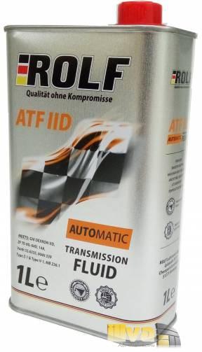 Трансмиссионное масло ROLF ATF II D 1 литр