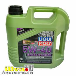 Масло моторное LIQUI MOLY Molygen New Generation 5W40 синтетика 4 литра