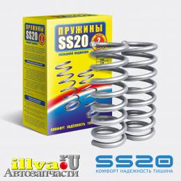 Передние пружины SS20 ВАЗ 2123 Chevrolet NIVA Шевроле Нива (2шт.) (SS20.154.00.001-01) SS30111