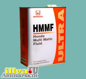 HMMF 4л Масло для вариаторов, Honda Multi Matic Fluid оригинальное 08260-99904