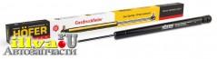 Амортизатор багажника газовый упор, ВАЗ 2108, 2109, 2114, 1111 ОКА  и ИЖ-2126, - 45 см - 340N - HOFER Германия HF522202